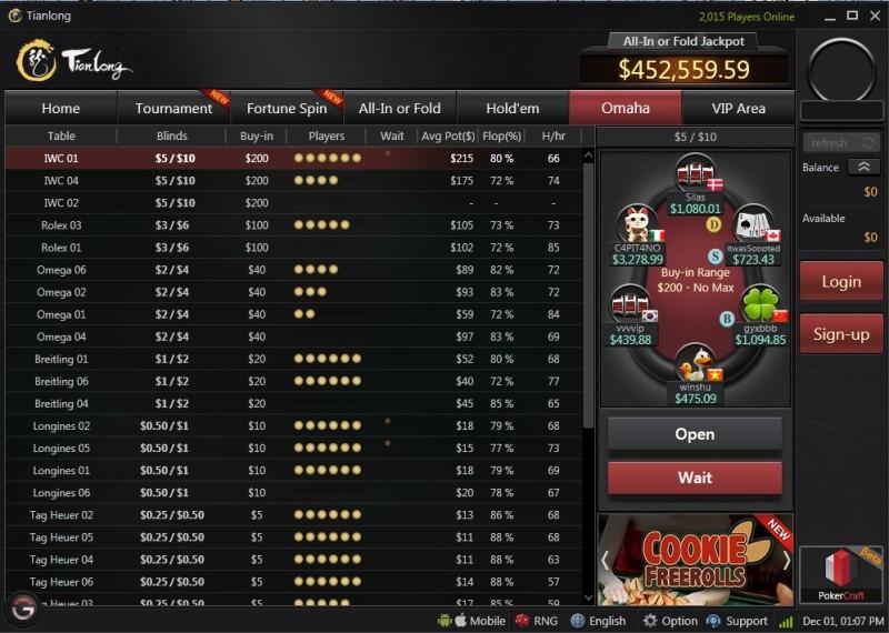 Tianlong Poker