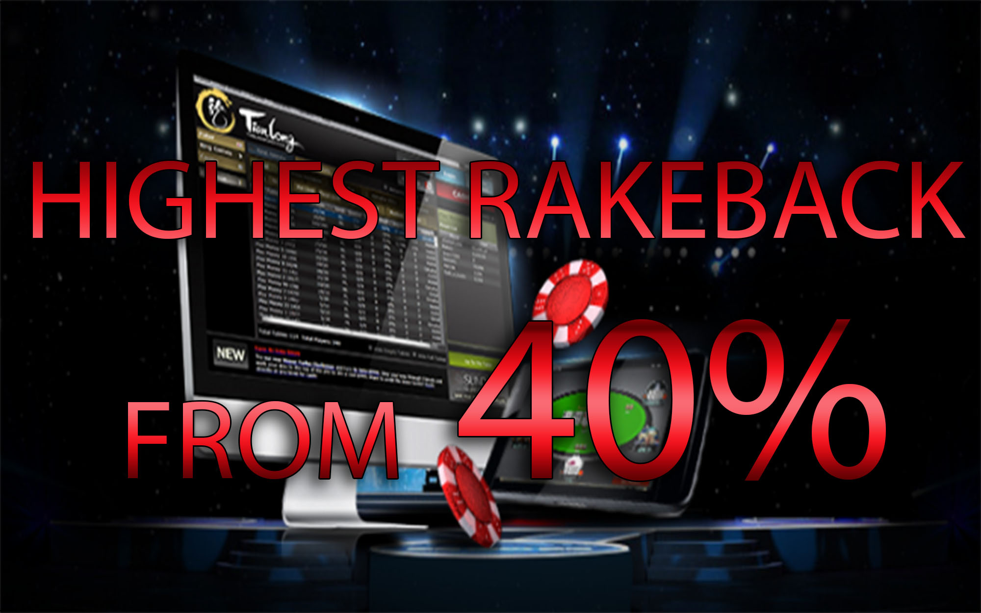 {:ru}(21.12.2016) Tianlong poker - высокий рейкбек 40%+!{:}{:en}(21.12.2016) Tianlong poker - the highest rakeback on the internet!{:}