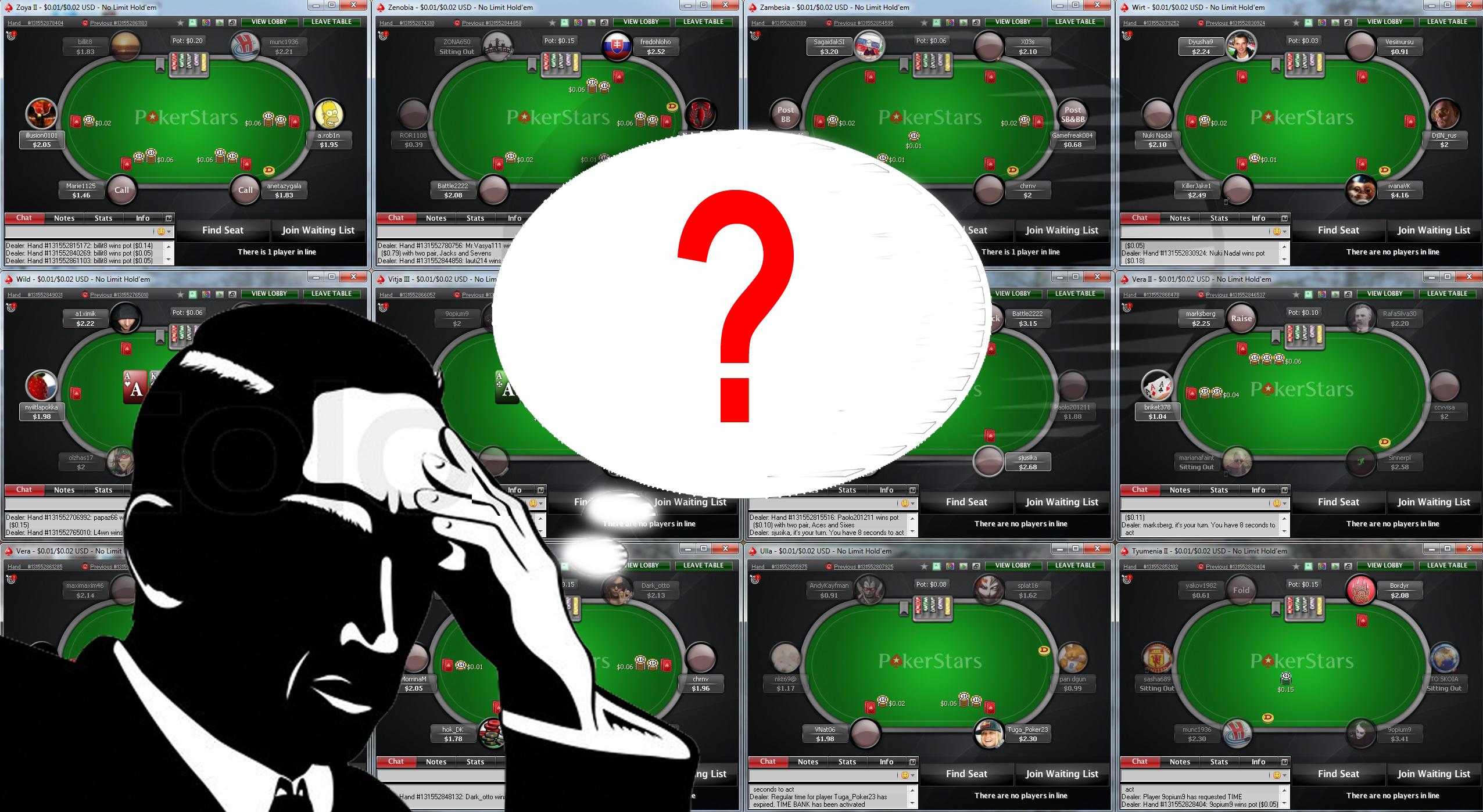 Largest Online Poker Rooms