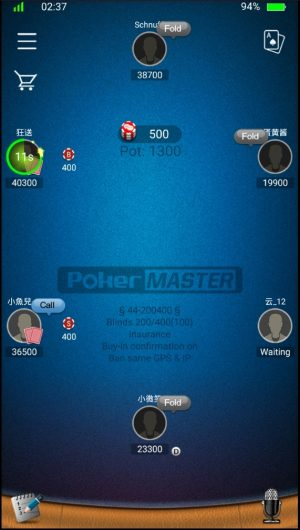 Play pokerMaster online