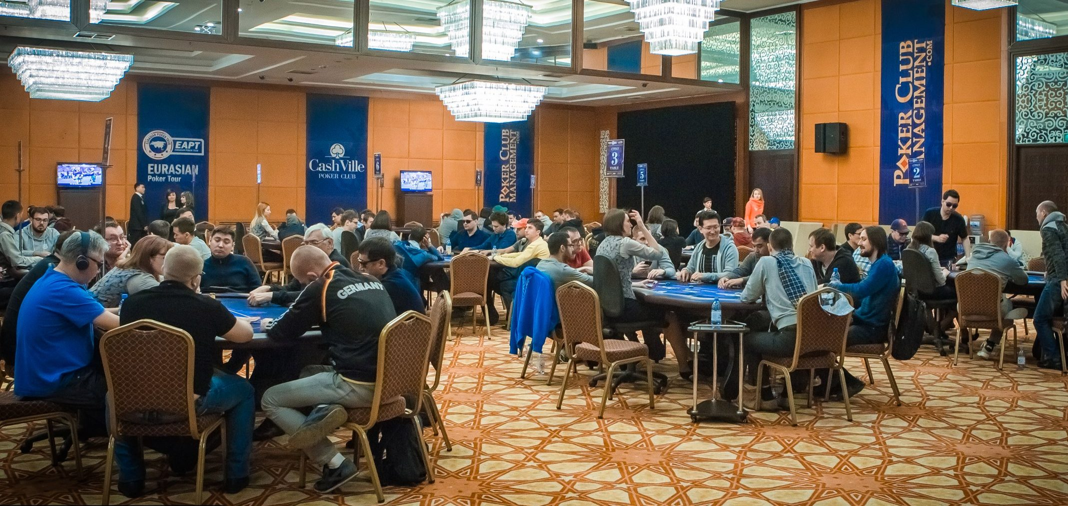 {:ru}Partypoker Eurasian Poker Tour пройдет в Казахстане 5-14 октября{:}{:en}The fifth season of the Eurasian Poker Tour {:}