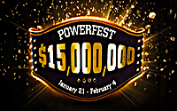 {:ru}(07.01.2017) POWERFEST VII на PartyPoker– ГАРАНТИЯ $15 млн!{:}{:en}(07.01.2017) POWERFEST VII at PartyPoker - $15 MILLION GTD{:}