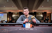 {:ru}(12.04.18) Джейк Шиндлер выиграл турнир за 100 тысяч евро!{:}{:en}(12.04.18) Schindler Wins partypoker LIVE MILLIONS Grand Final €100k!{:}