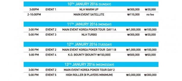 Fulpot poker проводит серию турниров в Сеуле