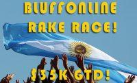 Октябрьская рейк гонка на Bluffonline