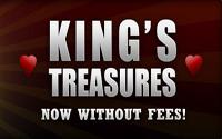 Королевские сокровища - прогрессивная рейк гонка на PokerKing!