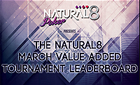 Natural8 увеличил призовой фонд Tournamnet Leaderboard!