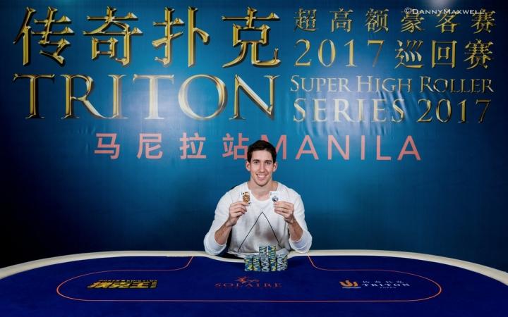 Daniel Colman Wins $470K in Triton SHR Series!