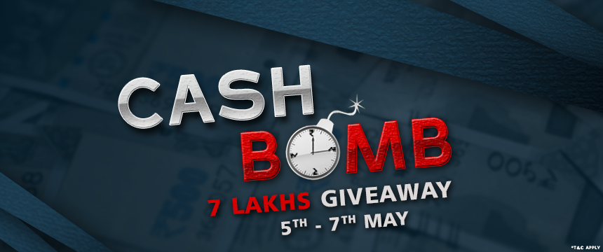 SpartanPoker presents new promo - Cash Bomb
