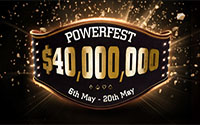 {:ru}(28.04.2018) POWERFEST – гарантия $40 миллионов на PartyPoker!{:}{:en}(28.04.2018) POWERFEST - $40 million gtd at PartyPoker!{:}