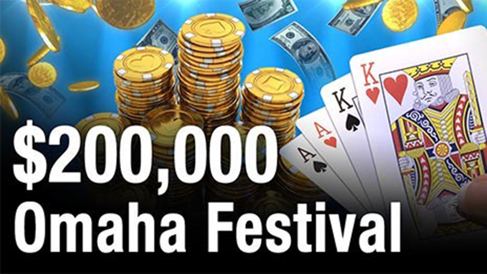 $200,000 Omaha Festival at Natural8!