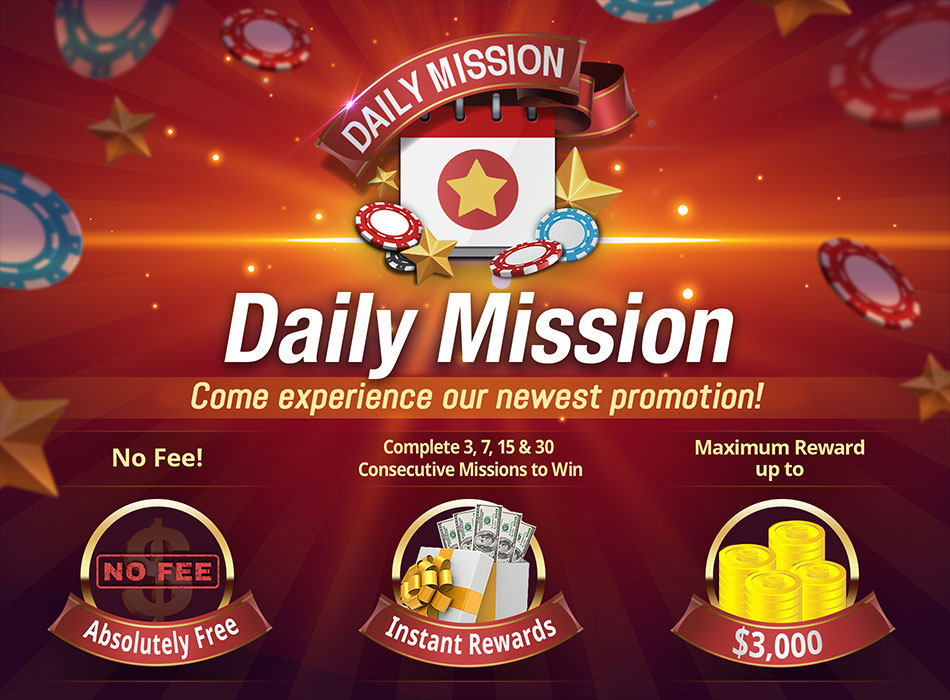 Daily Mission on LotosPoker