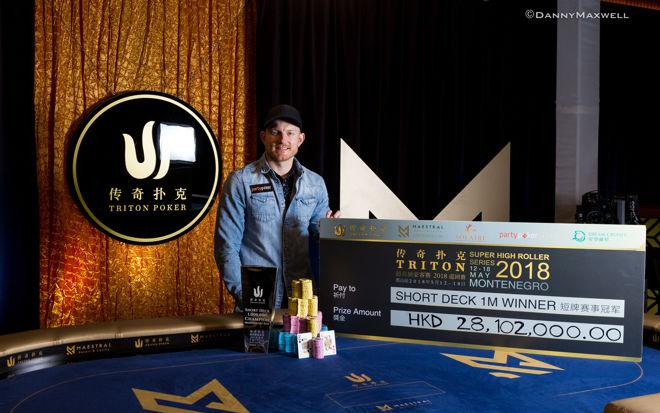 Jason Koon wins Triton Poker Montenegro Short Deck Event