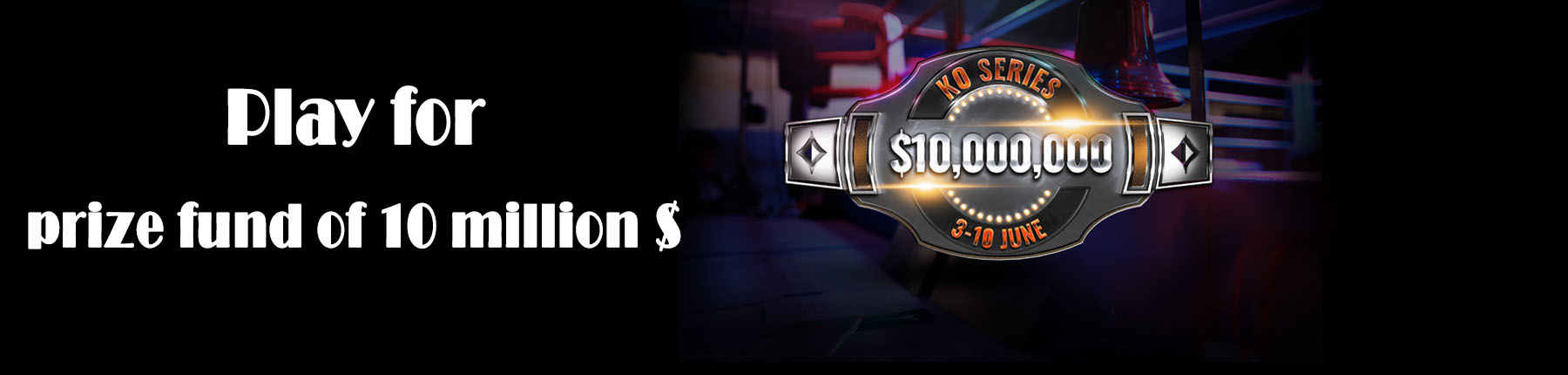 KO Series is a tournament festival with a $ 10,000,000 guarantee on PartyPoker.