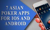 7 азиатских покерных приложений для IOS и Android.