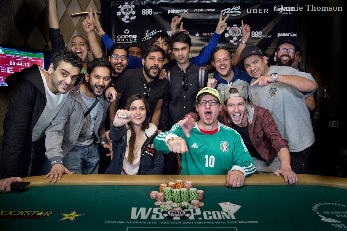 Никита Лутер и Джузеппе Панталео одержали победу в командном турнире WSOP