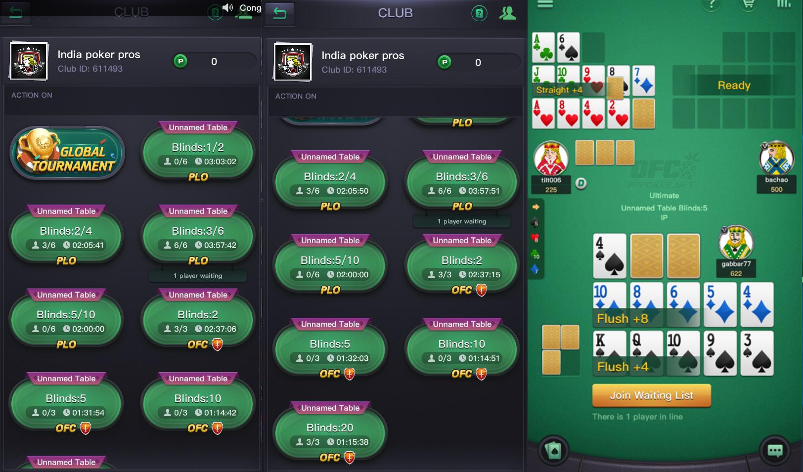 India poker pros