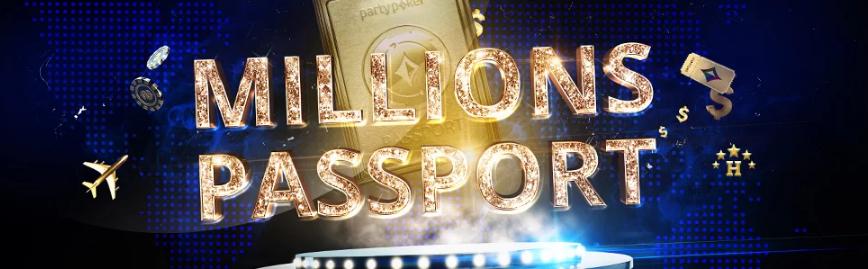 $500K MILLIONS Passport.