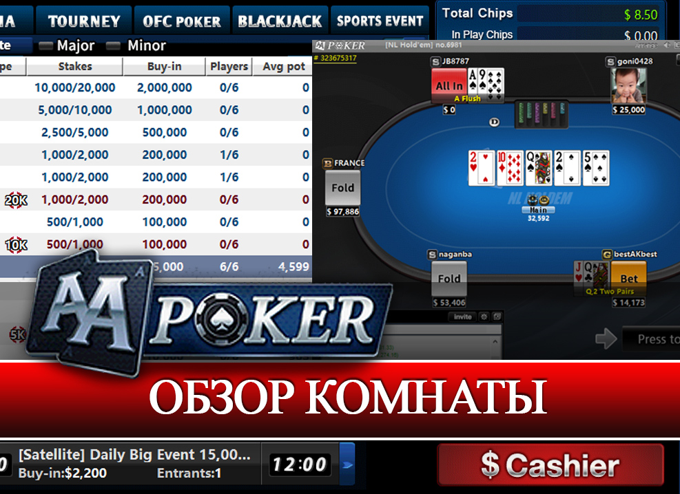 Review of korean online poker room AAPoker