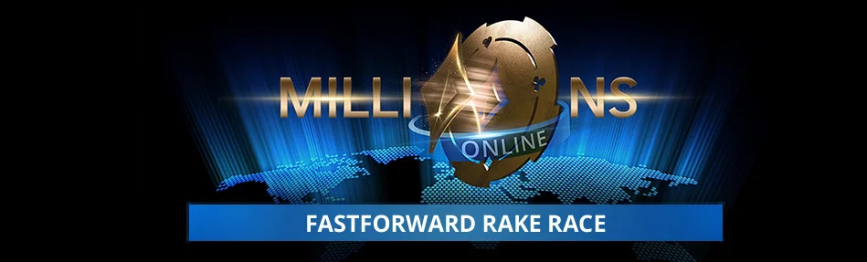 Partypoker presents Fastforward rake race