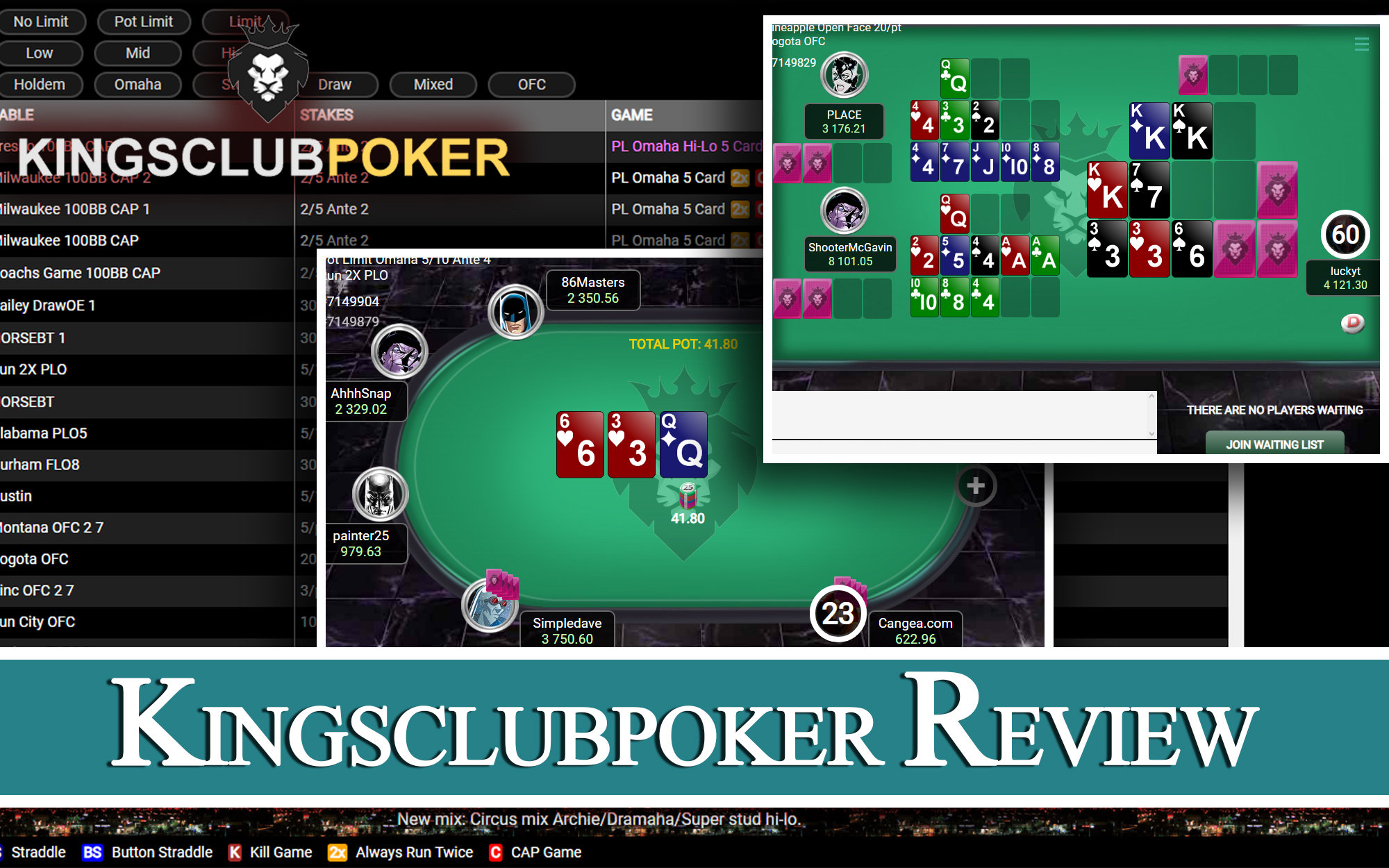 Kingsclubpoker review