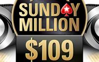 {:ru}(25.01.2019) PokerStrars уменьшили бай-ин Sunday Million до 109${:}{:en}(25.01.2019) Sunday Million at PokerStars: buy-in is half the price{:}