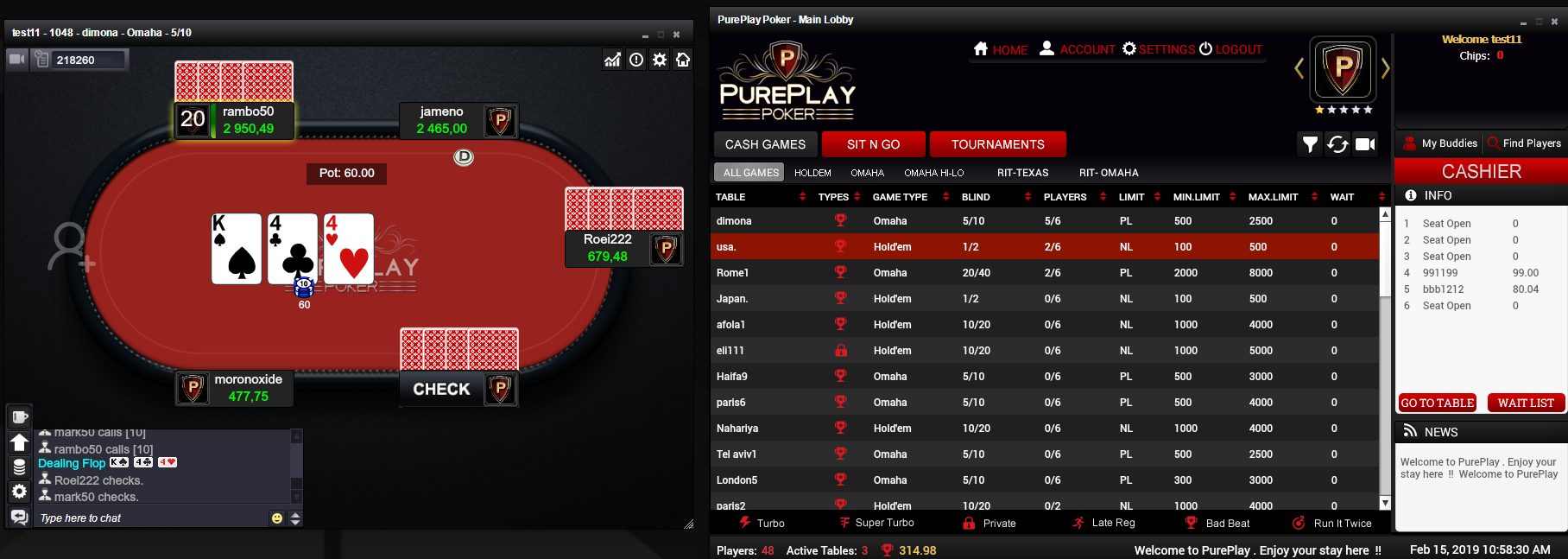 PurePlay Poker