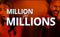 {:ru}(08.10.2019) PartyPoker представляет акцию Million for MILLIONS.{:}{:en}(08.10.2019) PartyPoker presents promotion Million for MILLIONS.{:}
