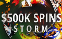 {:ru}(02.11.2019) Новая промо акция 500k$ spins storm на partypoker.{:}{:en}(02.11.2019) New promotion 500k$ spins storm at partypoker. {:}
