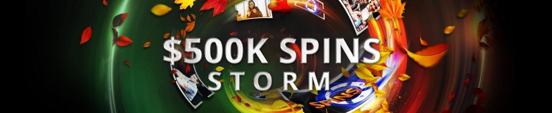 500k spins