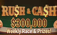 {:ru}(05.01.2020) Rush & Cash - крупная рейк гонка в PokerOK.{:}{:en}(05.01.2020) Rush & Cash is a huge rake race at PokerOK.{:}
