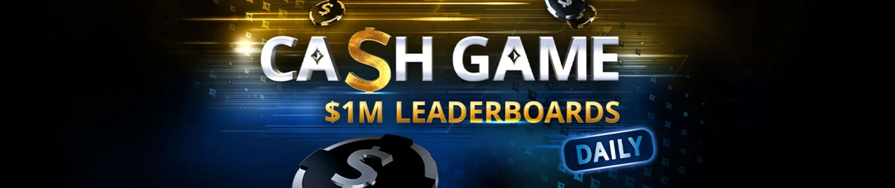 Cash Game Leaderboards $36K every day partypoker