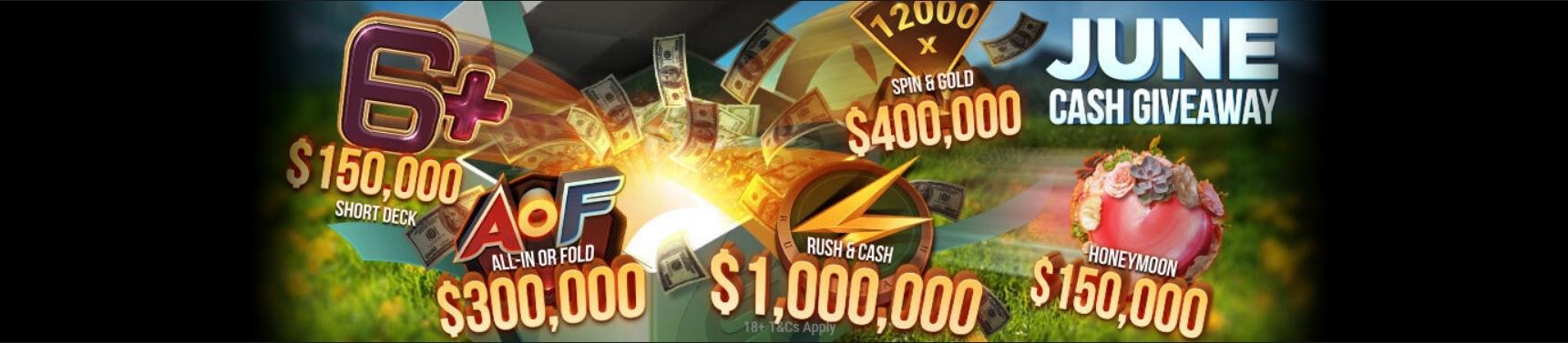 $2,000,000 June Cash Giveaway
