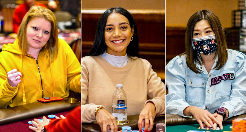 3 девушки за финалкой WPT