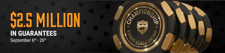 Championship Online Poker Series
